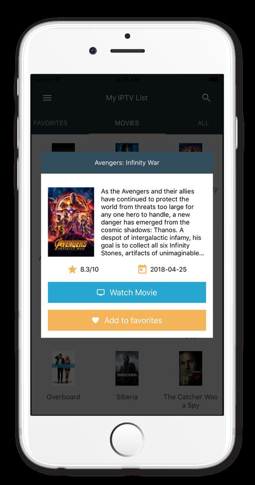 Infinity Iptv App